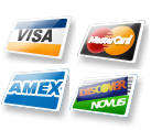 DVD Rental credit card types